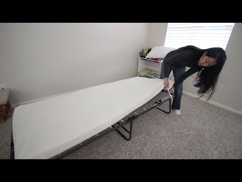 Night Therapy Weekender Elite Folding Guest Bed - Unboxing And Review