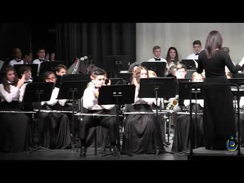Leesville Road Middle School Honors Band performs Arabian Dances on 3/18/2019