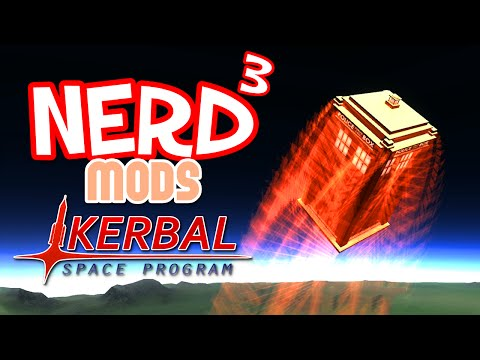 Kerbal Space Program - More Launch Sites & More Mods