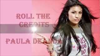 roll the credits lyrics - paula deanda