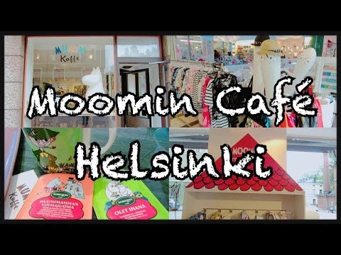 FINLAND VLOG| HELSINKI Moomin Cafe and Shop (Eng Subs)