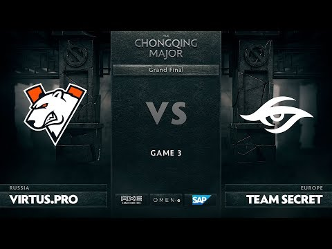 Virtus Pro vs Secret - The Chongqing Major - Game 3