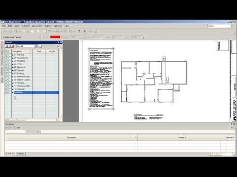 Basic Overview of Autodesk QTO  Quantity Takeoff