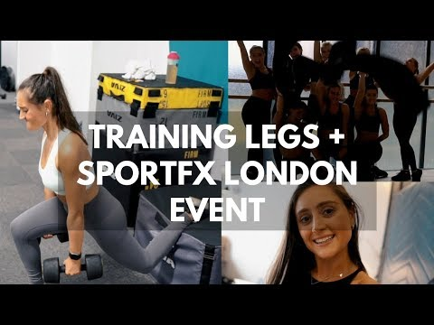 TRAINING LEGS WITH A BAD BACK + A TRIP TO LONDON WITH SPORTFX