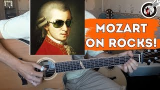 What if Mozart played acoustic fingerstyle guitar?