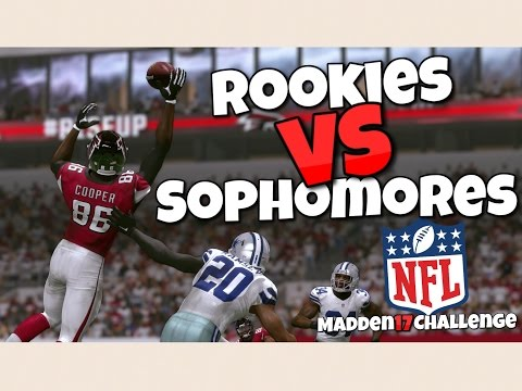 TEAM OF NFL ROOKIES VS TEAM OF NFL SOPHOMORES?! Madden 17 Battle of the Draft Class!!