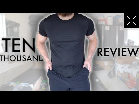 Ten Thousand Clothing Review Best Gym Clothes For Men 2020