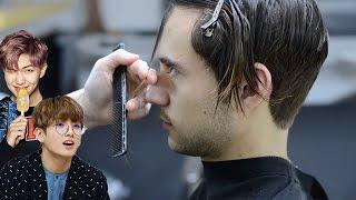 Video Men's Haircut Trends 2017 + Hairstyle   Korean Style Haircut   Ruben Ramos download MP3, 3GP, MP4, WEBM, AVI, FLV Desember 2017