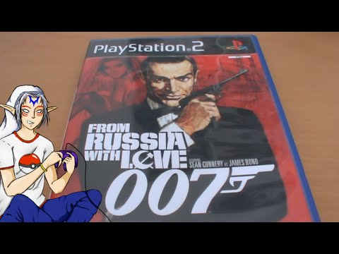 007 From Russia With Love James Bond Ps2 Unboxing Youtube