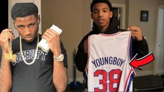 NBA YOUNGBOY SENT ME **EXCLUSIVE** AI YOUNGBOY JERSEY!!!