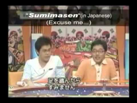 韓国の番組「悪いことする時は日本人と言うんだよ」