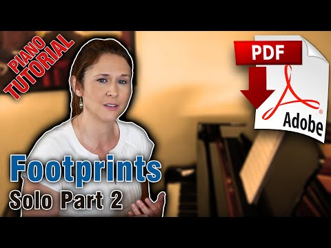 Footprints Solo Tutorial (Part 2 of 2)