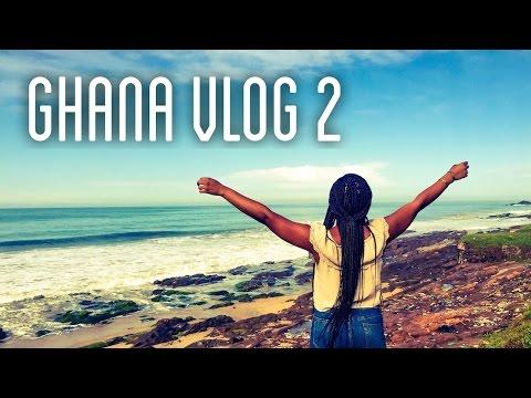 Ghana Vlog #2 | Weekend Getaway, Market Shopping & More!