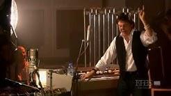 Paul McCartney shows the Mellotron