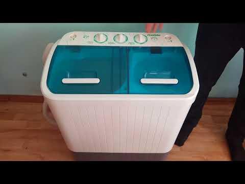 Отличная стиральная машинка для дачи, общежитий и съемных квартир. Славда WS 40 PET. Обзор#3