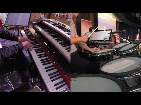 Keyboard & Drum s: 10,000 Reasons & Lord I Need You