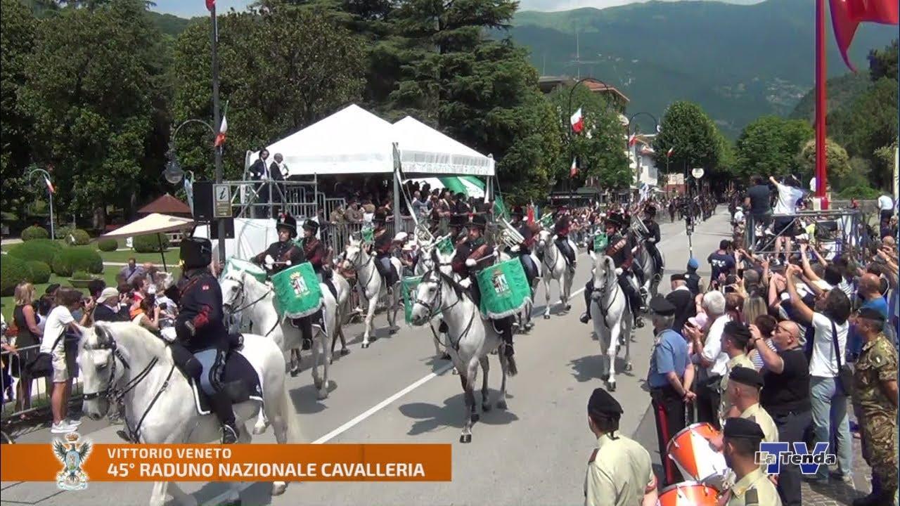 5° Raduno Nazionale Arma di Cavalleria - Cerimonia ufficiale e sfilata