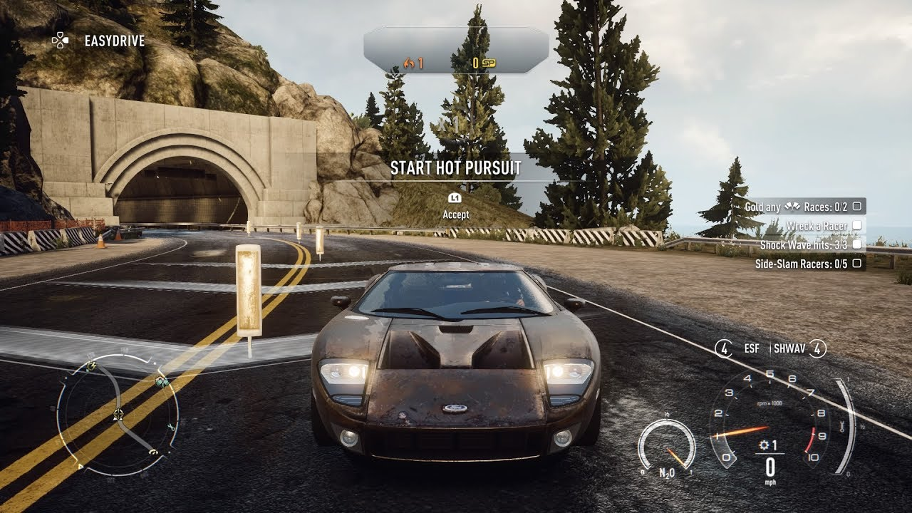 Need For Speed Rivals Grand Tour Ford Gt