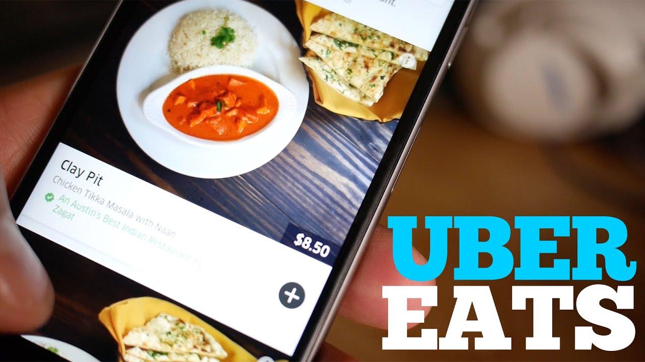 testing uber eats food delivery youtube. Black Bedroom Furniture Sets. Home Design Ideas