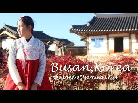 BUSAN, KOREA TRAVEL VLOG