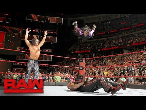 Thumbnail: The Hardy Boyz vs. Gallows & Anderson - Raw Tag Team Championship Match: Raw, April 3, 2017