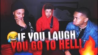 IF YOU LAUGH, YOU GO TO H3LL 🔥😂 (MOUTH FULL OF WATER💦)