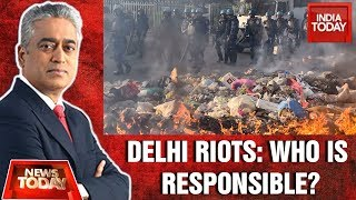 Delhi riots: who is accountable for this mayhem? | news today with rajdeep
