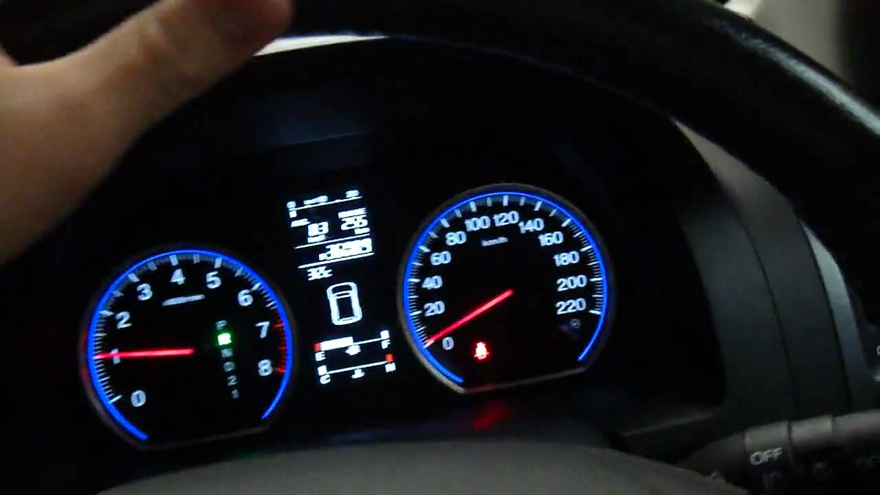 2007 Honda CR-V parking sensors demo - YouTube