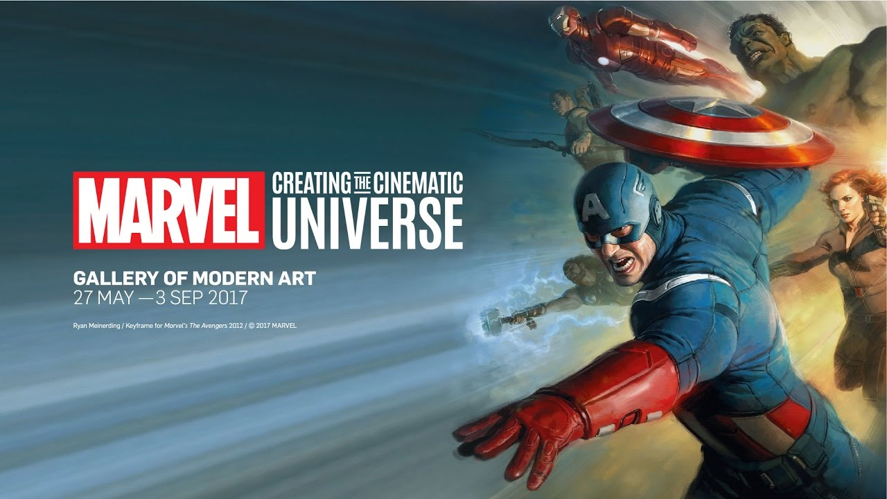 Experience the largest Marvel exhibition ever presented