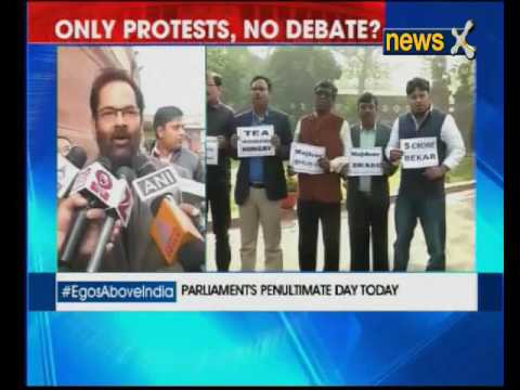 Opposition protests on note ban; total Parliament washout inevitable?