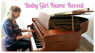 NAME REVEAL FOR BABY GIRL!!!! // THE JOYFUL MOM