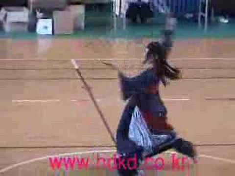Yoonjakyung's two-swords dance, korean martial art
