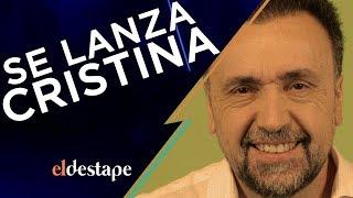 Se lanza Cristina | El Destape con Roberto Navarro