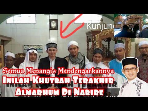 Khutbah 'Idul Fitri 2015 Paling Sedih Oleh Ust  Andi Rahmat Al Haadi, di Nabire Papua, achie88yazid@