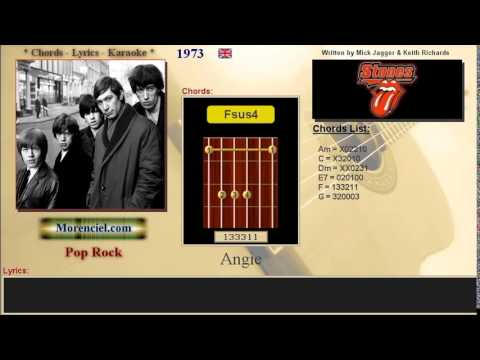 The Rolling Stones - Angie #0169