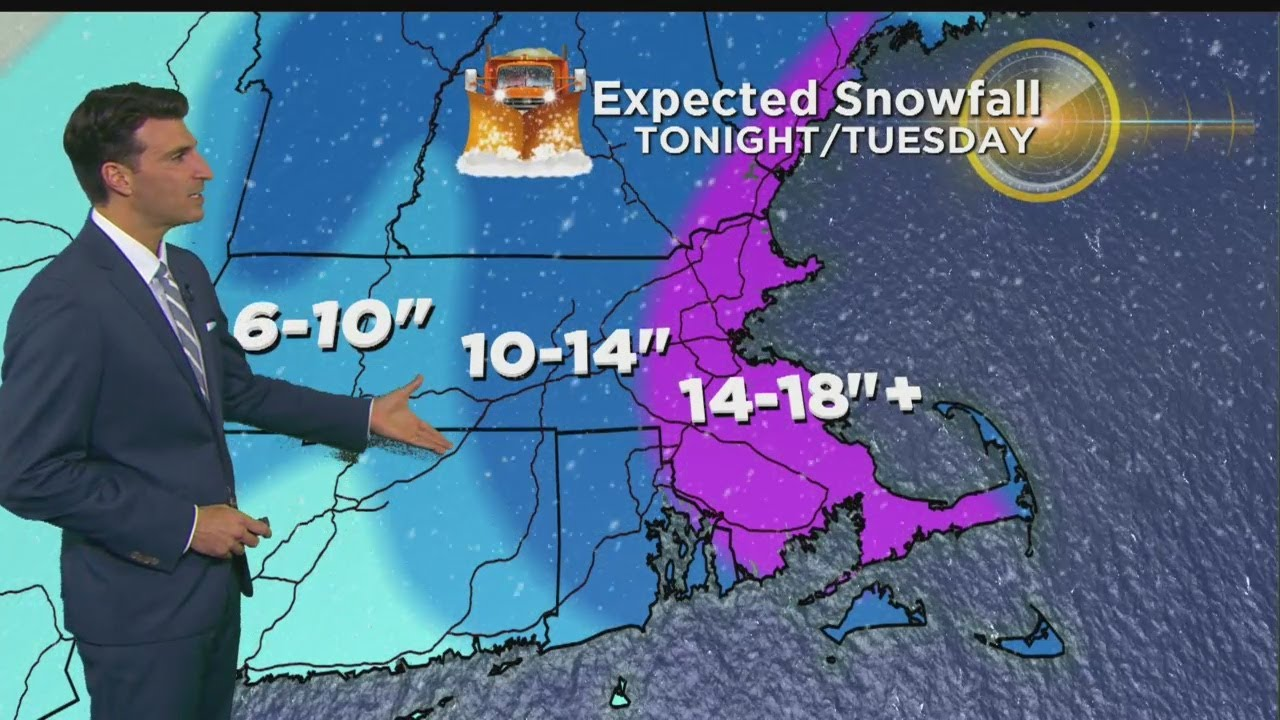Storm Update: WBZ Afternoon Forecast For March 12