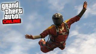 CUANTO MAS CERCA DEL SUELO MEJOR!! - NUEVO DLC MODO LIBRE GTA V ONLINE PS4