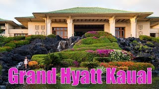 Grand Hyatt Kauai 2019 - Family Fun Review of the Best Hotel in Poipu [4K]