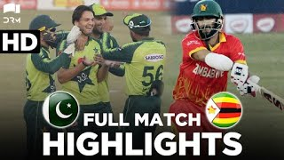 Full Match Highlights | Pakistan vs Zimbabwe | 3rd T20I 2020 | PCB | MD2T