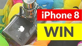 iPHONE 8 - Greifautomat Gewinn - Claw Machine - Greifer gegen Harry - THEBIGHARRY