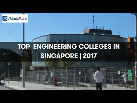 AdmitKard | Top Engineering Colleges - Singapore
