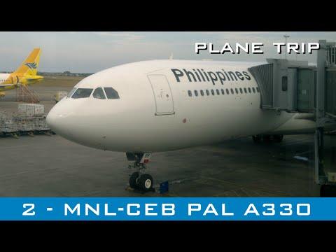 Plane Trip #2 - Manila to Cebu - Philippine Airlines A330 - Apr 2015