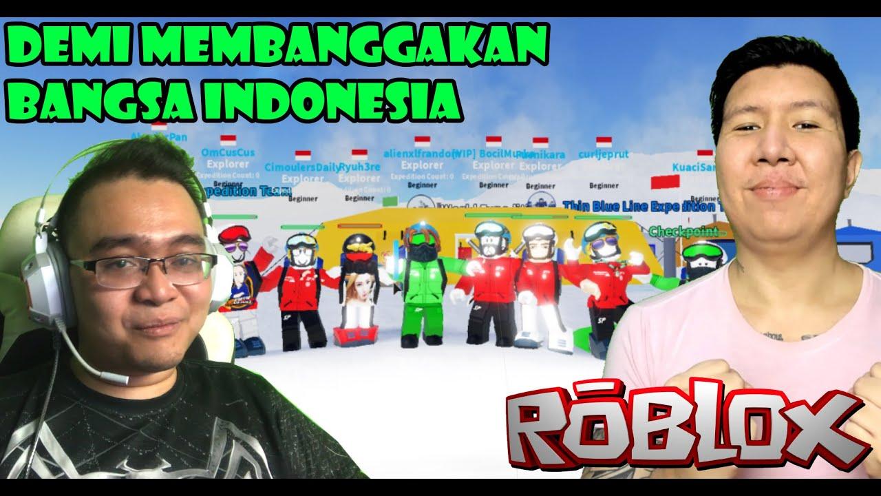 DEMI MEMBANGGAKAN BANGSA INDONESIA With @Windah Basudara - ROBLOX EXPEDITION ANTARTICA