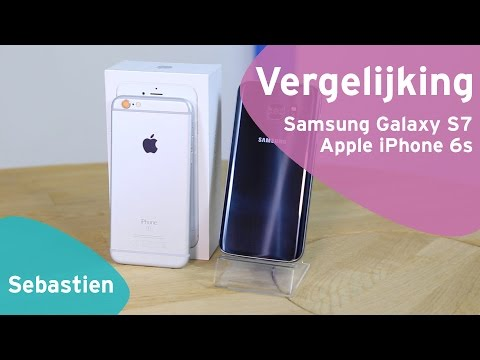 Samsung Galaxy S7 vs Apple iPhone 6s review (Dutch)