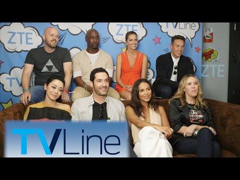 Lucifer Interview  | TVLine Studio Presented by ZTE | Comic-Con 2016