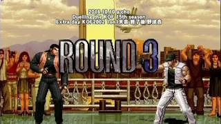 2016年10月10日に開催した a-cho Duelling the KOF 15th season Extra d...