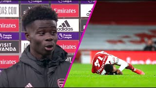 """Aubameyang is AMAZING!"" - Bukayo Saka reacts after Arsenal's 4-2 win over Leeds 