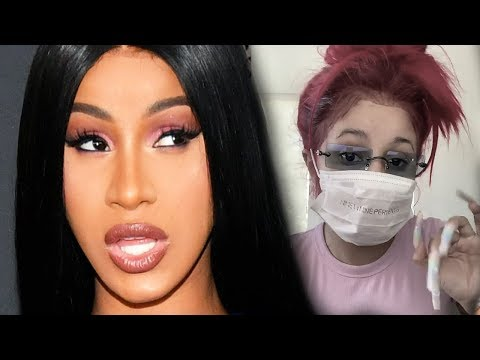Cardi B Reacts To Backlash After Being Hospitalized