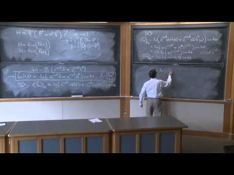 16.  Quantum Dynamics (continued) and Two State Systems
