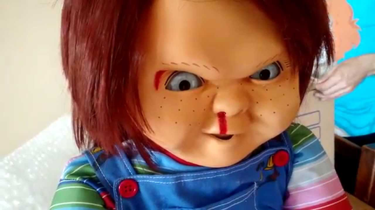 Chucky Life Size Talking Doll Silicone Quick Video